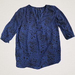 WILLI SMITH Animal Print Blouse
